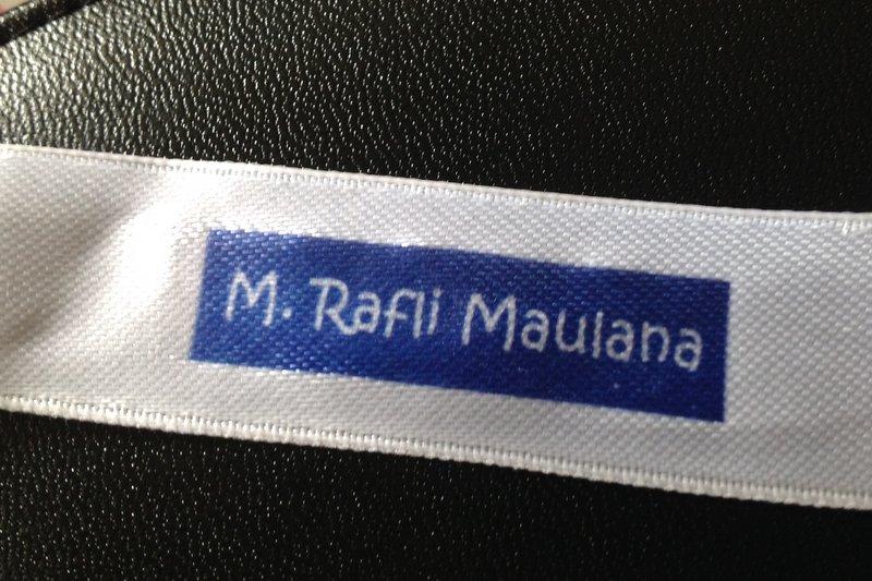sticker baju | BELBANA - Stiker nama untuk baju